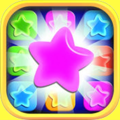 twinkling star fall game - remove all stars iOS App
