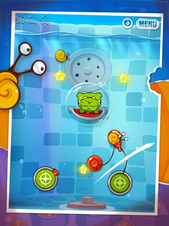 Screenshot #4 for Cut the Rope: Experiments HD ™