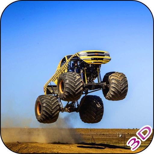 Monster Truck Freestyle Run - 4x4 Adventure