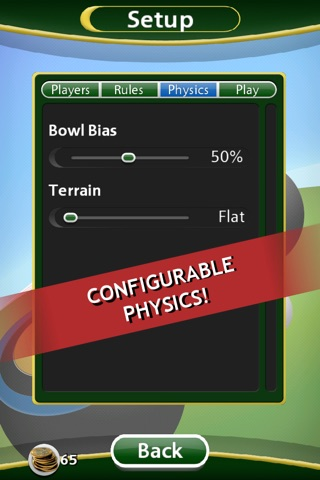 Virtual Lawn Bowls screenshot 2