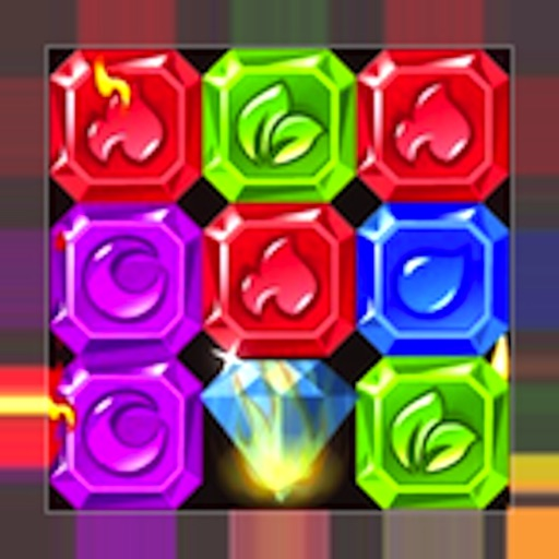 Jewel Blast Quest Match iOS App