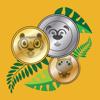 Dschungel-Münzen - mit Münzen rechnen lernen