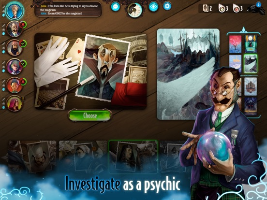 Mysterium: A Psychic Clue Game Screenshots