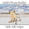 Salish Phrase Builder business card builder