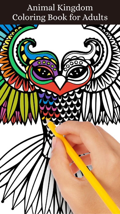 Animal Coloring Pages Book For Adults On The App Store