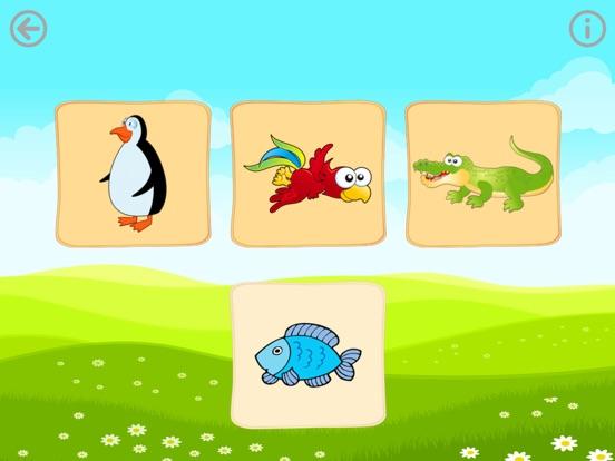 Еда животных. Игры для малышей Скриншоты6