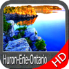 Marine : (Huron-Erie-Ontario) HD GPS Map Navigator