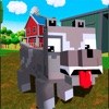 Blocky Dog: Farm Survival Full