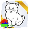 Paint and Drawing Cat - For Kids