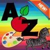 ABC Brief Malbuch: Vorschul Lernen Kinder Spiel