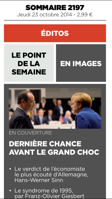 download Le Point Hebdo apps 2
