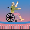 Happy Hero Jump - Happy Wheels Racing