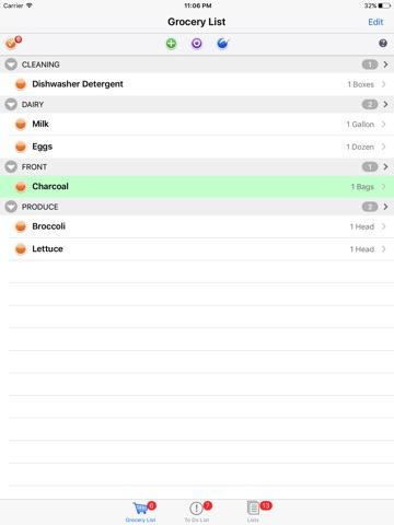 List Omni Lists screenshot 1