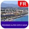 普羅旺斯-阿爾卑斯-藍色海岸 離線地圖 - PLACE STARS
