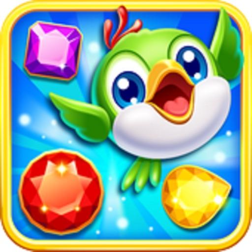 Jewels Quest : Jewel Bird Mania 2017 iOS App