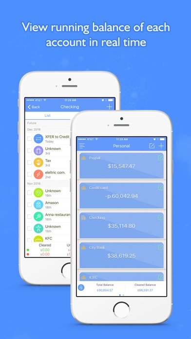 Screenshot #7 for Money Focus Pro - Account, Budget and Bill Manager