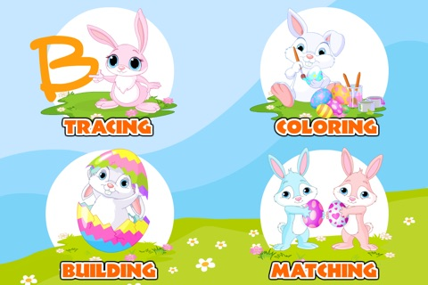 Preschool! Learning Games • Easter Match & Puzzle screenshot 2