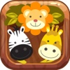 Cute Animals Puzzle Match 3 Game