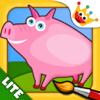 Bauernhof Tiere: Jungs,Mädchen Malen Kinderspiele