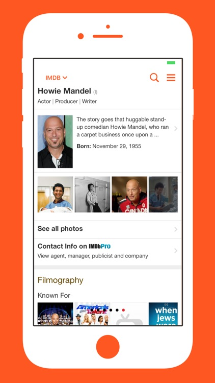 the iam howie mandel app screenshot 4
