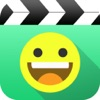 Funny Emoji Video, add face sticker
