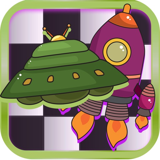 Checker Board Spaceship Puzzle Style Pro App Ranking & Review