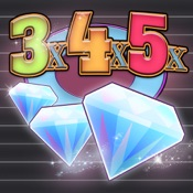 Slots - 3x4x5x Diamonds Diamonds Tokens