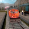 3D Real Fast City Train Driver Simulator