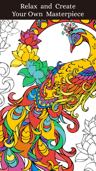 iphone screenshot 1 - How To Make A Coloring Book App