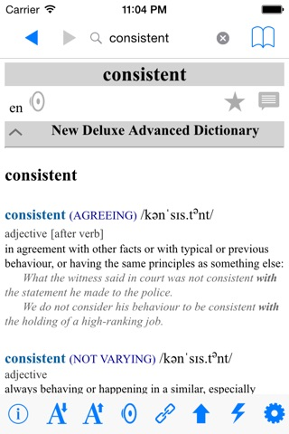 Student Advanced Dictionary Deluxe screenshot 4