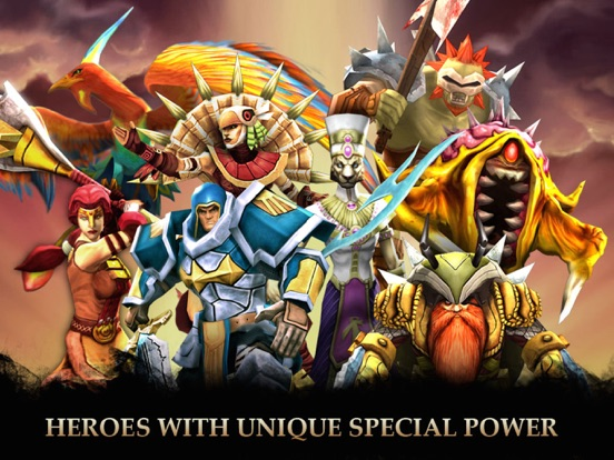 Скачать игру Legendary Heroes - offline MOBA