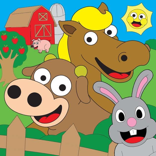 Coloring Farm Animal Coloring Book For Kids Games on the App Store