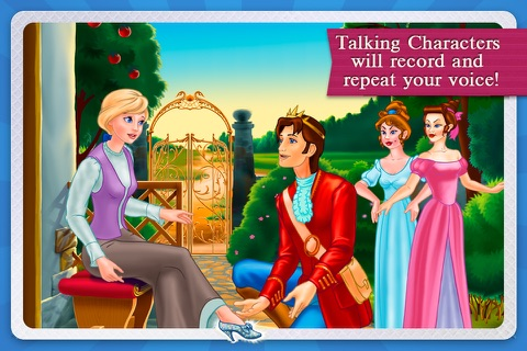 Cinderella Fairy Tale Dress Up and Storybook HD screenshot 3
