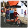 Tuk Tuk Bicycle Rickshaw Driver & Chingchi sim