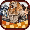 download Furry & Friends Board Puzzles Checkers Game Pro
