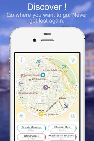 Valencia on Foot : Offline Map screenshot 1