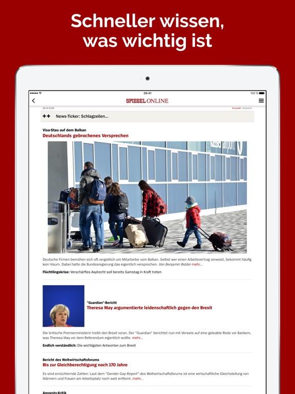 Spiegel online nachrichten app voor iphone ipad en for Spiegel zeitung