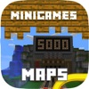 MINIGAMES MAPS FOR MINECRAFT PE POCKET EDITION