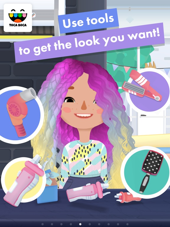 Toca Hair Salon 3 iPad