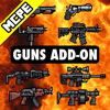 Guns Addons Maps for Minecraft - Pocket Edition PE
