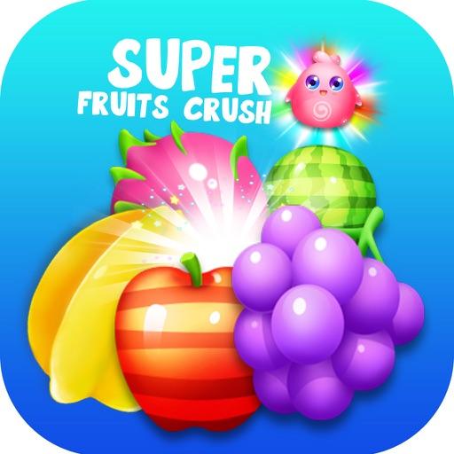 Super Fruit Heroes Crush iOS App