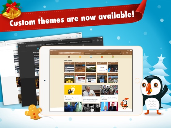 Screenshot #1 for Puffin Browser Pro