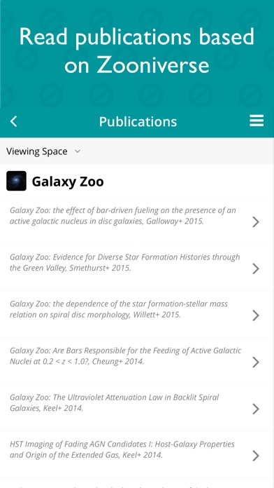 Screenshot 4 for Zooniverse's iPhone app'