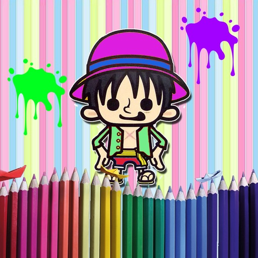 My Colouring One Piece Paint Of Book iOS App