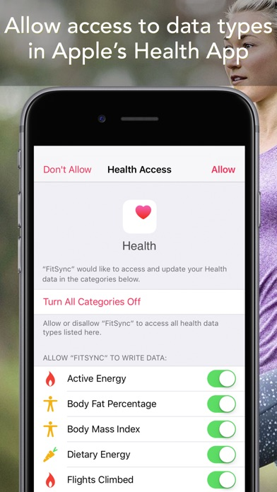 Sync for FitBit - Fitbit to Apple Health Screenshots