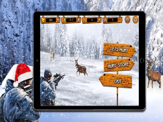 Deer Hunting Christmas Hunter: Stag Sniper Hunting Screenshots