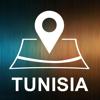 Tunez, GPS sin conexion automatica Wiki