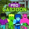 Cartoon Skins Pro - New Skins for Minecraft PE