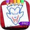 Sketch Drawing Vampires & Werewolf Pictures Pro app for iPhone/iPad