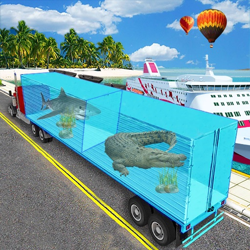 Real Sea Animal Cargo Truck - Pro iOS App